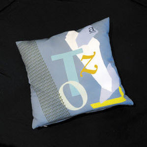 GALERIE KAKEBOTON - cellini & page - Square Cushion