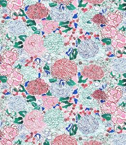 THEVENON - la rose des vents - Fabric By The Metre