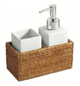 ROTIN ET OSIER -  - Bathroom Accessories (set)
