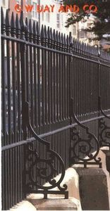 G. W. Day & -  - Security Grille