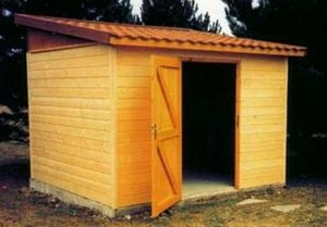 LES ABRIS MARTIN -  - Wood Garden Shed