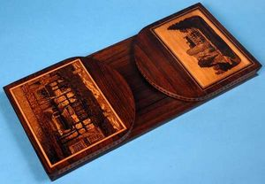 AMHERST ANTIQUES -  - Book End