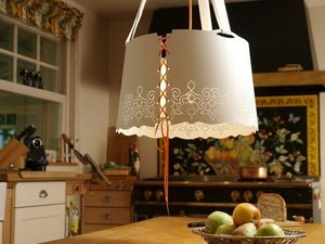 pulpo - fat lace - Hanging Lamp
