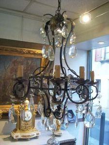Antiquités Authier -  - Chandelier