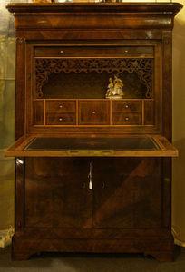 Antiquités Eric de Brégeot -  - Secretary Desk