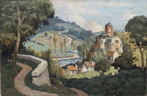 Antiquités Eric de Brégeot -  - Oil On Canvas And Oil On Panel