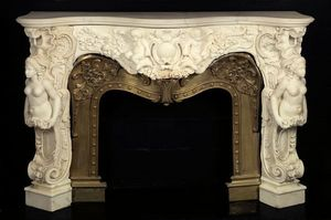 Adrian Alan -  - Fireplace Mantel