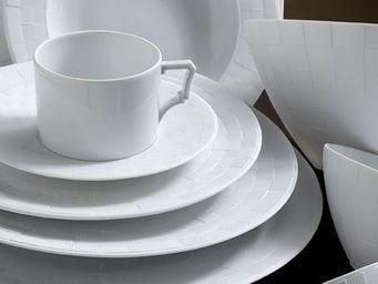 L'OBJET - byzanteum blanc dinnerware - Dinner Plate