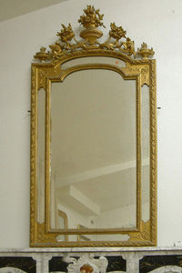 Abj Cheminees Anciennes - miroir louis xvi - Mirror