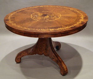 Anthony James & Son - centre/dining - Round Diner Table