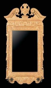 The English House - george ii architectural mirror - Mirror