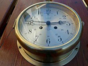 La Timonerie Antiquités marine -  - Wall Pendulum