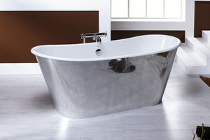 BLEU PROVENCE - epoque alluminium - Freestanding Bathtub