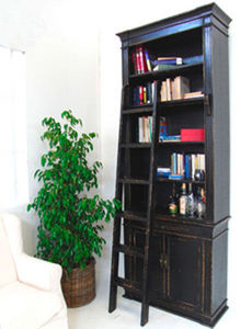 BLEU PROVENCE - vintage black - Bookcase
