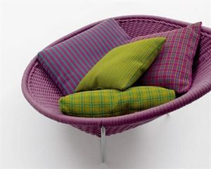 PAOLA LENTI - nido - Deck Armchair