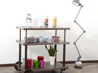 Miliboo - chariot console - Table On Wheels
