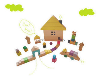 KUKKIA - gg09-tsumiki - Wooden Toy