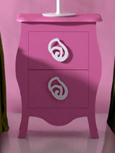 CRUZ CUENCA - rosa - Children's Bedside Table