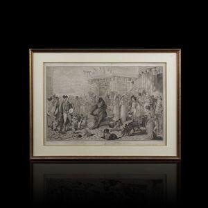 Expertissim - dogs dancing, gravure par carle vernet - Engraving