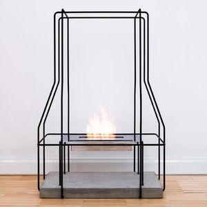 ITALY DREAM DESIGN - wireplace - Flueless Burner Fireplace