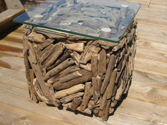 piscine o jardin -  - Square Coffee Table