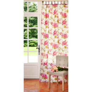 MAISONS DU MONDE - rideau floralie - Tab Top Curtain