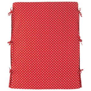 Maisons du monde - housse tête de lit rouge à pois blancs dream - Headboard Cover