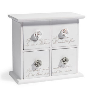 Maisons du monde - boîte 4 tiroirs rosa - Jewellery Box
