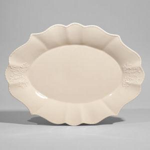 MAISONS DU MONDE - plat ovale bourgeoisie - Serving Dish
