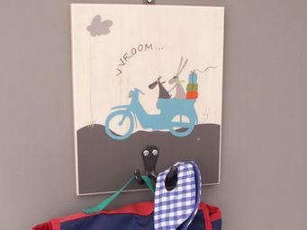 ICI LA TERRE - patère chambre d'enfant bombay simple - Children's Clothes Hook