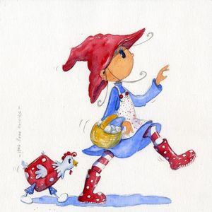 DECOHO - celestine d'un pas décidé - Children's Picture