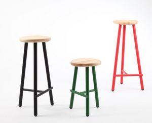 PAOLO CAPPELLO - milk stool - Bar Stool