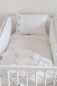 PRETTY LINGE -  - Crib Bumper Pad