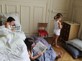 Grasse Matinee - mazette fluo - Children's Duvet Cover