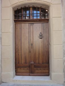 Portes Anciennes -  - Glazed Entrance Door