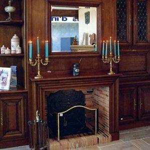 Jean Magnan Cheminees - fontainebleau en chêne - Open Fireplace