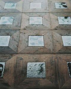 MADE A MANO - Rosario Parrinello - avec des pierres de lave - Wooden Floor