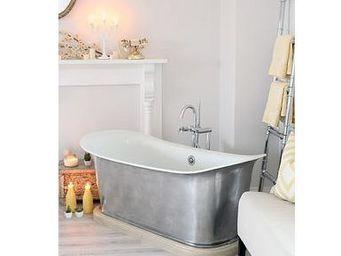 THE BATH WORKS - st. lyon with a wood plinth - Freestanding Bathtub