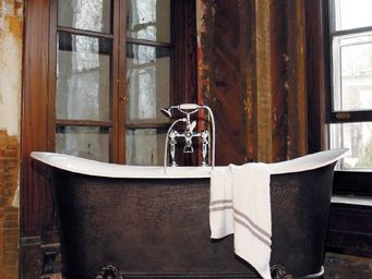 THE BATH WORKS - saracen - Freestanding Bathtub With Feet