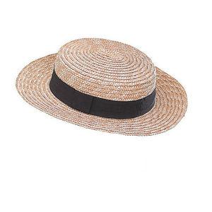 WHITE LABEL - canotier mixte paille - Hat
