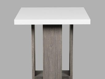 BLANC D'IVOIRE - tania - Square Dining Table