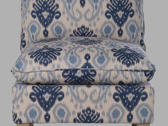 BLANC D'IVOIRE - arnaud bleu - Fireside Chair