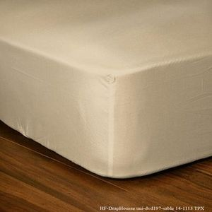 FASHION HOME - drap housse sable - Fitted Sheet