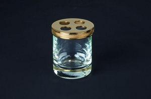 Cristal Et Bronze - cristallin - Toothbrush Glass