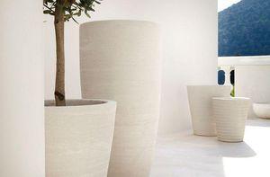 Poterie Ravel - arum et cycas - Tree Pot