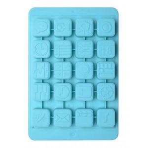 La Chaise Longue - moule à glaçons ipad turquoise - Ice Tray