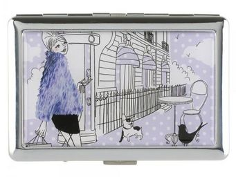 La Chaise Longue - etui à cigarettes les parisiennes la fashion - Cigarettes Case