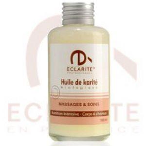 ECLARITE - huile de massage et soins au karité biologique - 1 - Massage Oil