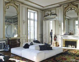 Maison De Vacances - satin trianon - Rectangular Cushion