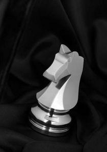 ECHIQUIER FUMEX - argente - Chess Piece